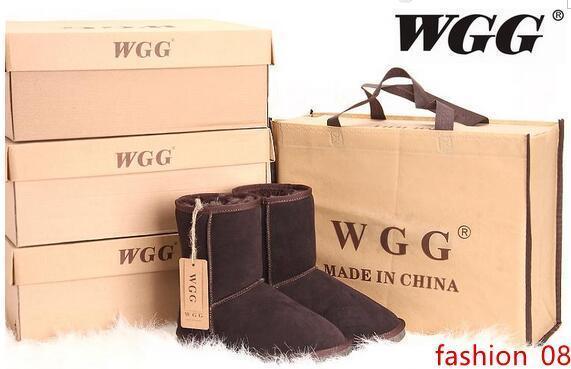 Цена акции бесплатная доставка высокое качество WGG женские классические высокие сапоги Женские сапоги снегоступы зимние сапоги