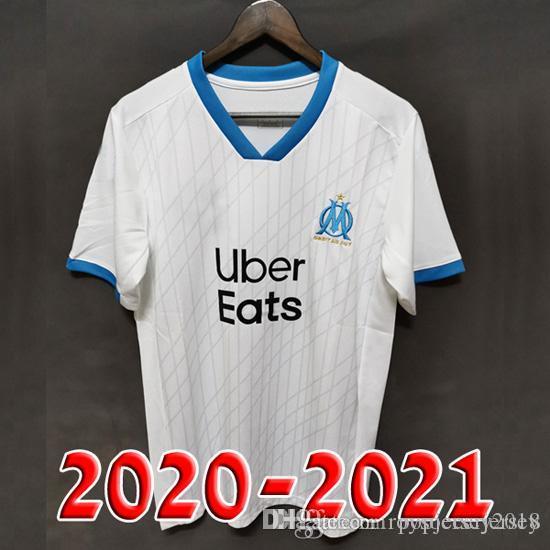 Squadre internazionali Maglia Olympique Marseille 2020-2021 Calcio ...