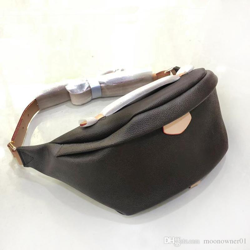 2019 Mais novo Stlye Famoso Bumbag Cross Body Bag Ombro Designer Sacos de Cintura Temperamento Bumbag Cross Fanny Pack Bum Cintura Sacos de cintura pacote