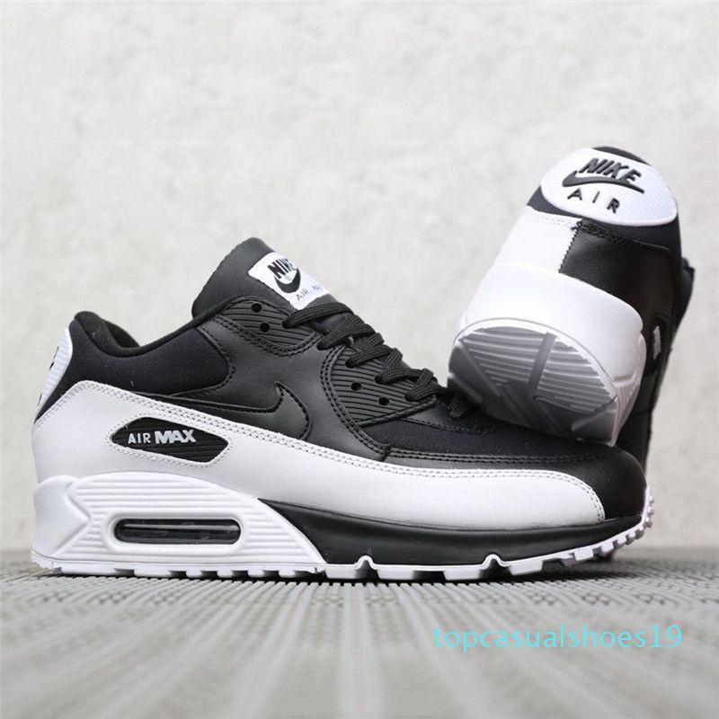 Mode Mann-Luftpolster-beiläufige Sport-Schuh-Marke Design Männliche Laufschuhe Outdoor-Schwarz Braun Leder Sneakers TR19