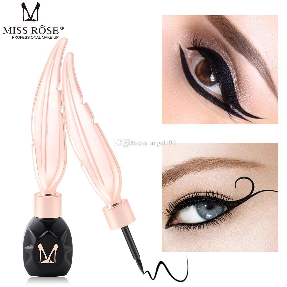 wholesale The newest Miss rose Liquid Eyeliner Pencil Natural long-lasting waterproof liquid eyeliner Feather eyeliner