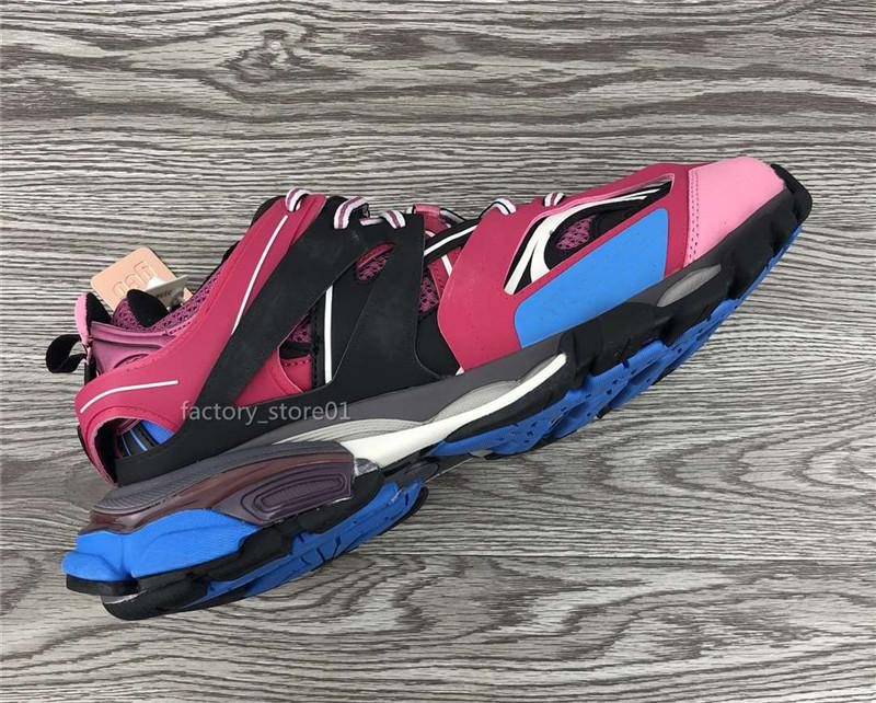 Горячие продажи-король обувь Женщины Оранжевый Розовый Синий неуклюжим Повседневная обувь тапки папа обувь Chaussures