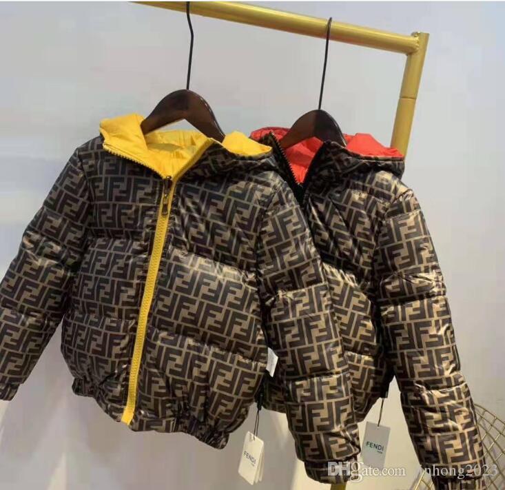 2020 العلامة التجارية الأطفال ملابس خارجية فتى وفتاة الشتاء البلوز معطف سميك القطن الأطفال معطف سترة أسفل الملابس كيد الستر