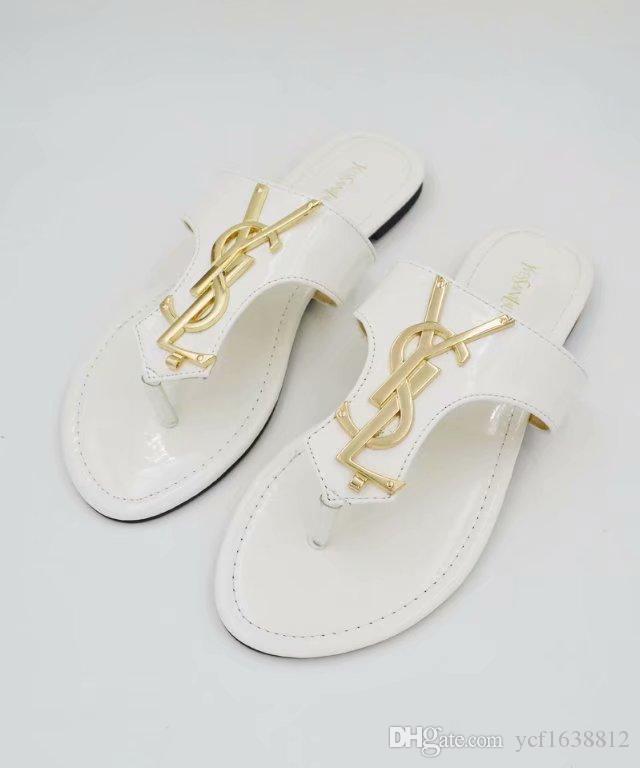 19 высокого качества дизайна мужские и женские летние резиновые сандалии пляж слайд моды носить тапочки крытый обувь 35-42