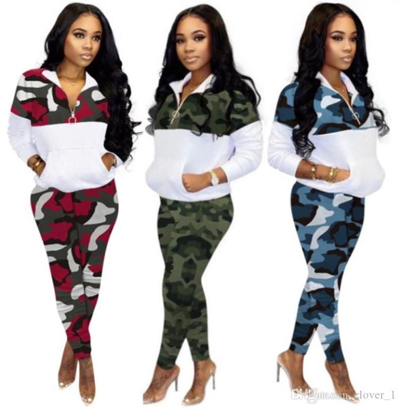 womens deux pièces ensemble survêtement pantalon chemise sportswear manches longues pantalon chemise pull-over sweatsuit bodycom sportswear klw3161 chaud
