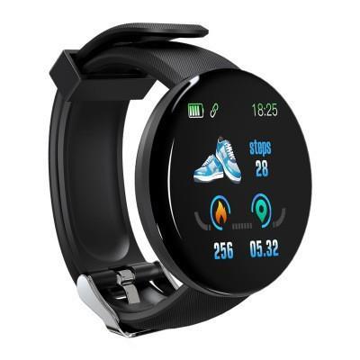 2019 Bluetooth Smart Watch Men Blood Pressure Round Smartwatch Women Watch D Waterproof Fitness Tracker WhatsApp For Android iOS