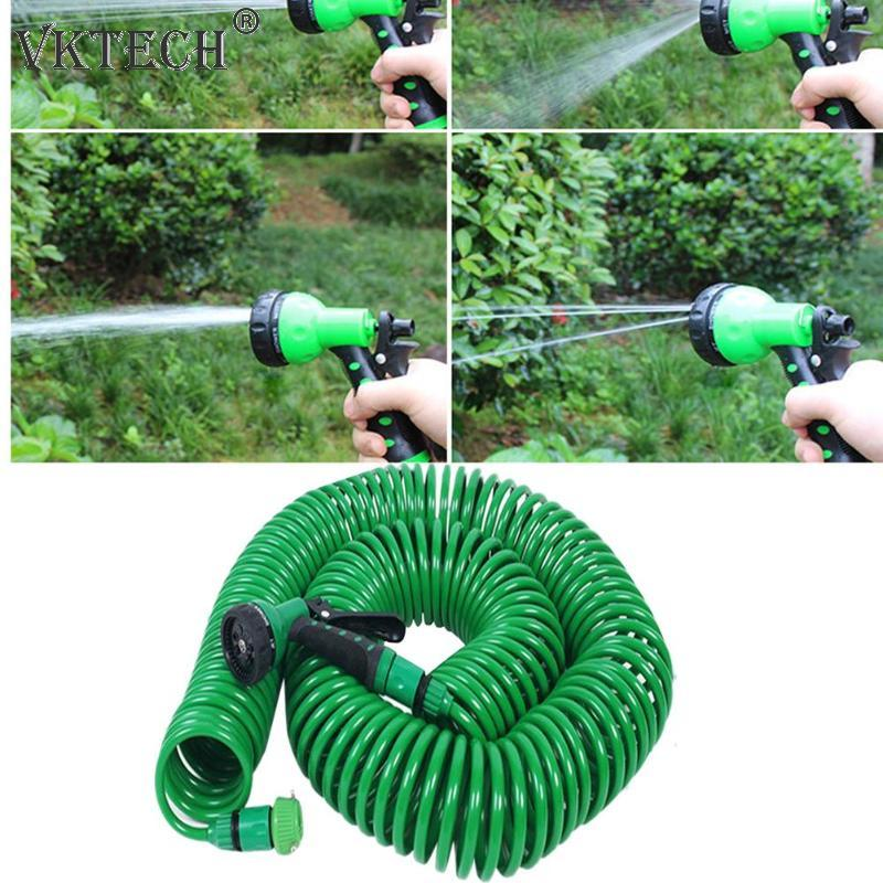 Expandable Garden Hose Pipe Watering Spray Gun for Car Lawn Irrigation Kit Flexible Water Hose Car Washer Garden Watering Tools