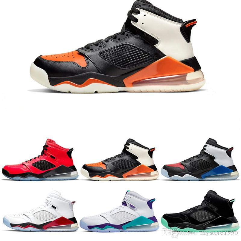 Hot sale Mars 27o Basketball Shoes For Men Bred Top 3 Fire Red Grape Shattered Backboard Infrared 23 Citrus Designer Trainer Sport Sneaker