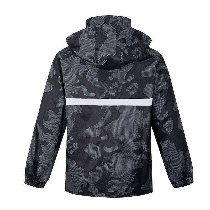 Imper adulte équitation imper pluie costume pantalon imperméable de Split hommes et femmes respirant camouflage imper
