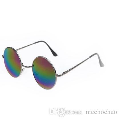 Fashion Fashion Top Brand Metal Designer Frame Round Retro Box Popolare Vintage Nuova Qualità 1084 Stile di design stile Top Style con occhiali da sole XFXP