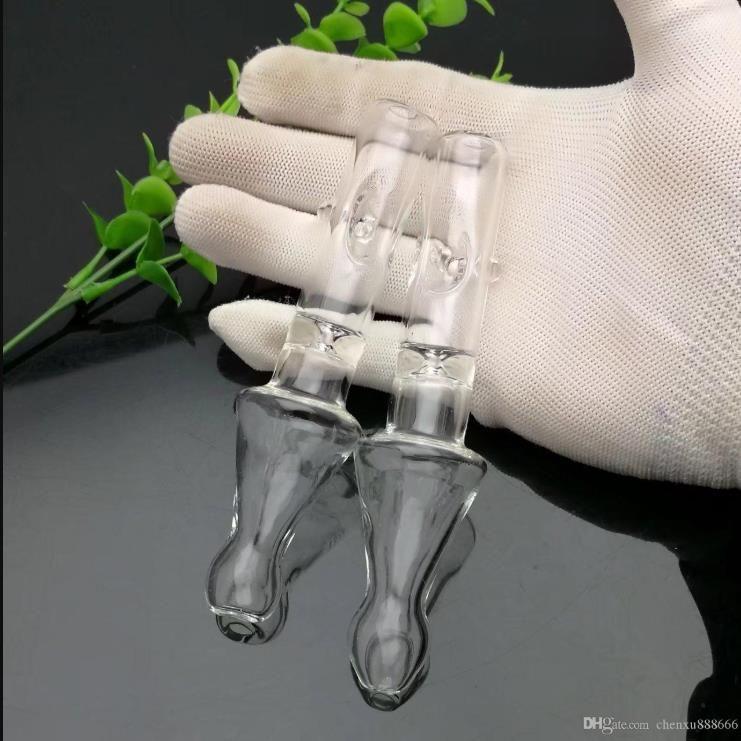 Nouveau tube de verre tranchant bong verre en gros brûleur à huile en verre Tubes de tuyaux d'eau, huile Rigs.