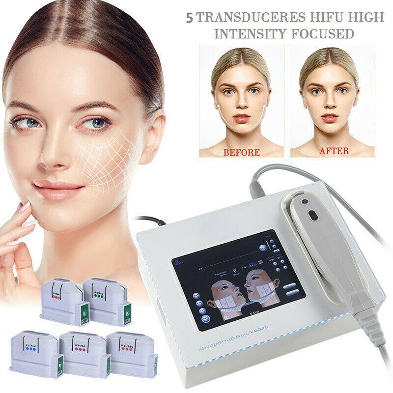 2019 새로운 휴대용 HIFU 기계 10000 샷 고 강도 초점을 맞춘 초음파 hifu 얼굴 리프트 바디 피부 리프팅 기계 주름 제거 아름다움