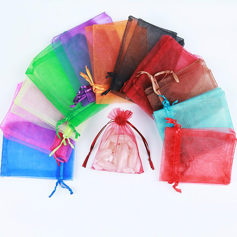 100шт Малый пластиковые мешки для упаковки печенья конфеты мешок Розовый Любовь Рождество Свадебные подарочные пакеты бисквитные выпечки торта Wrapper сумки