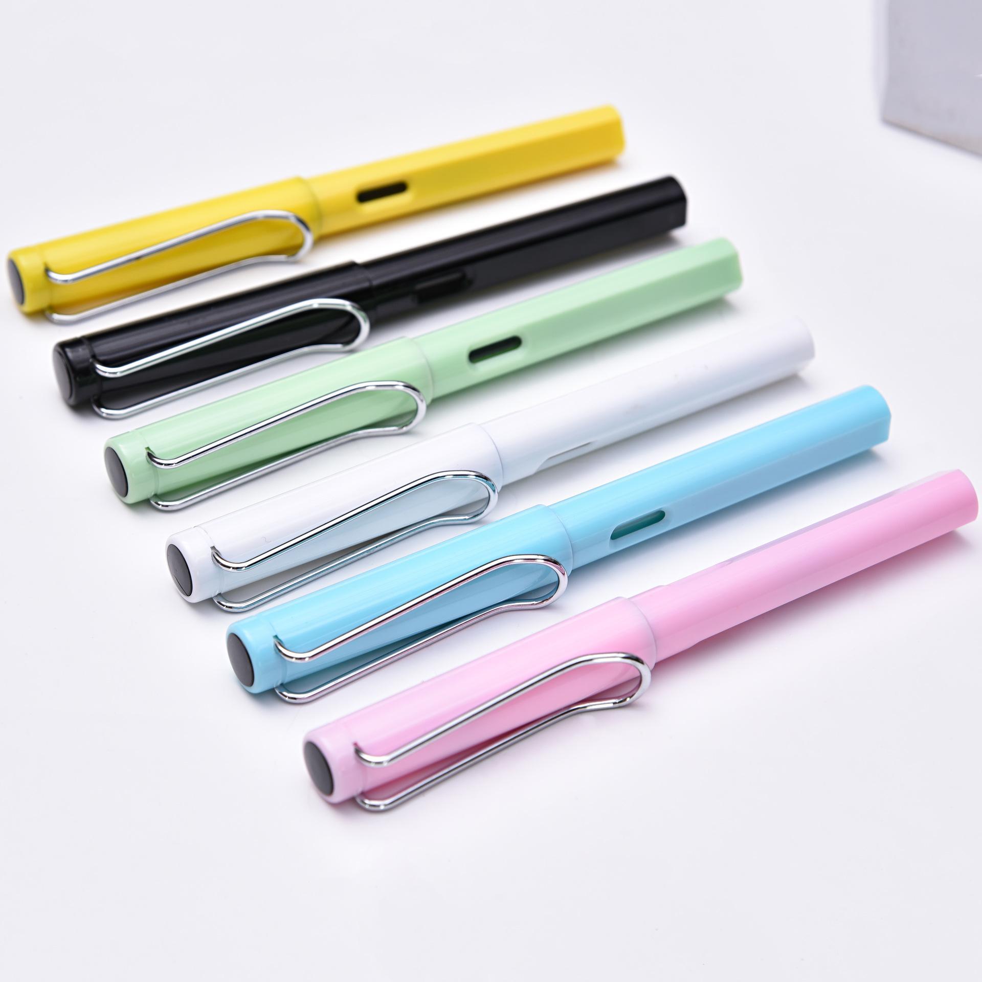 Stylo de couleur pour stylo de bureau Stylo à bille vertical