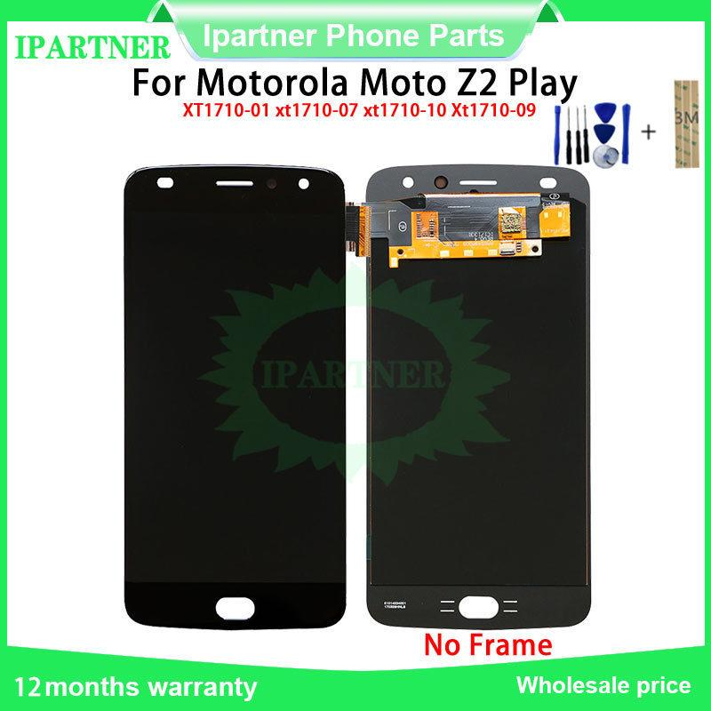 prova di 100% per Moto Z2 gioco XT1710 XT1710-01 / 07/08/09/10 Display LCD Touch Screen sostituzione Assemblea del convertitore Per Moto Z2 gioco