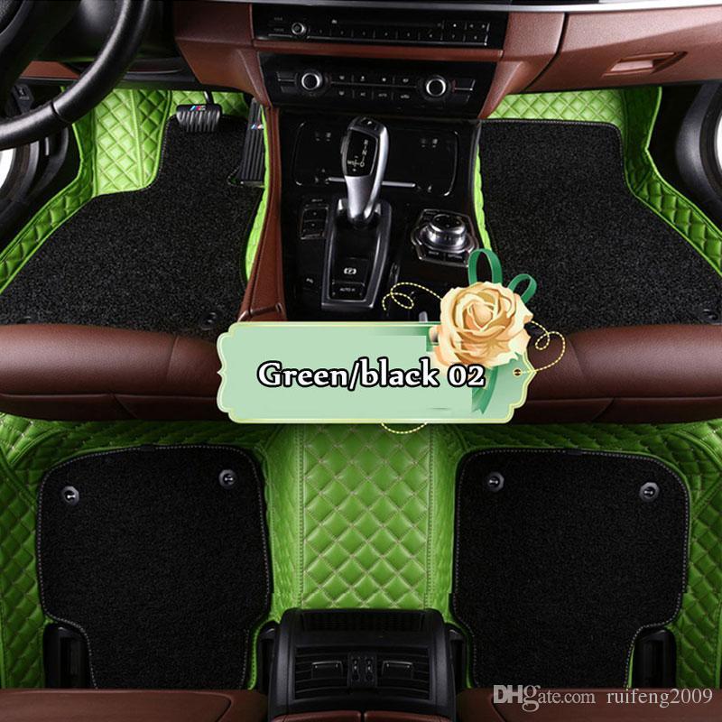 Custom fit car floor mats for Cadillac ATS CTS XT5 XTS SRX SLS Escalade 3D car-styling all weather waterproof carpet floor liner