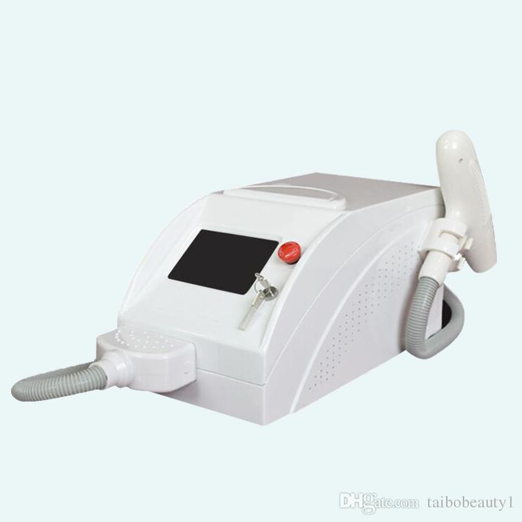 Nueva máquina portátil de eliminación de tatuajes con láser de eliminación de tatuajes q color nd yag para vender