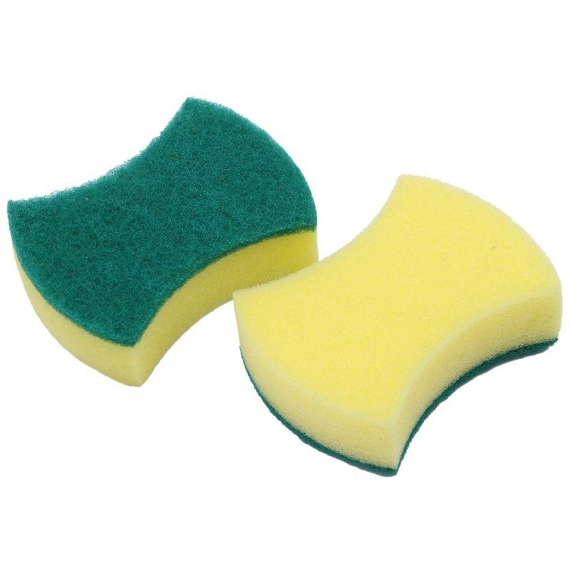20 Stück Multi-Use Heavy Duty Scrub Schwamm Extra Thin Magie Schwämme Radiergummi Schwamm für Küche Badezimmer Möbelleder