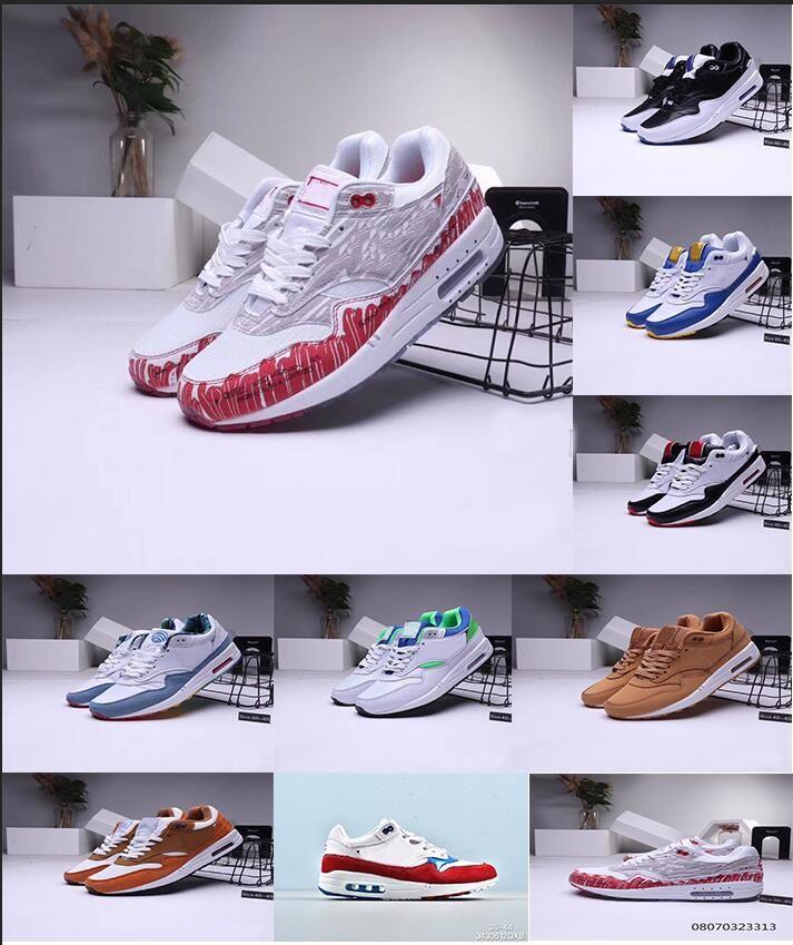 1 OG Hommes Chaussures De Course Sketch To Shelf Blanc Université Rouge Loup Gris Running Baskets Blanc Noir 1 Marine Baskets De Course