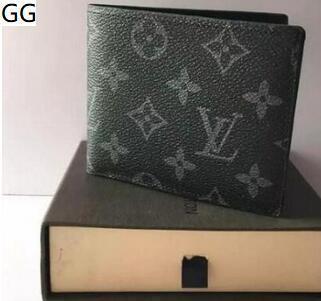 zz8 envío 2020 cartera de cuero genuino bolsillo para los hombres cortos ocasionales de tarjeta masculino monedero de la manera libre de las carpetas para los hombres sin caja S3OJ