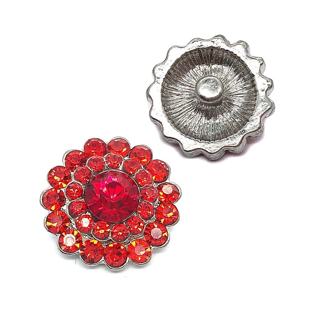Luwellever 028 fiore 3D 18 millimetri 25 millimetri tasto del metallo a scatto per la collana del braccialetto dei monili intercambiabile donne Accessorie risultati
