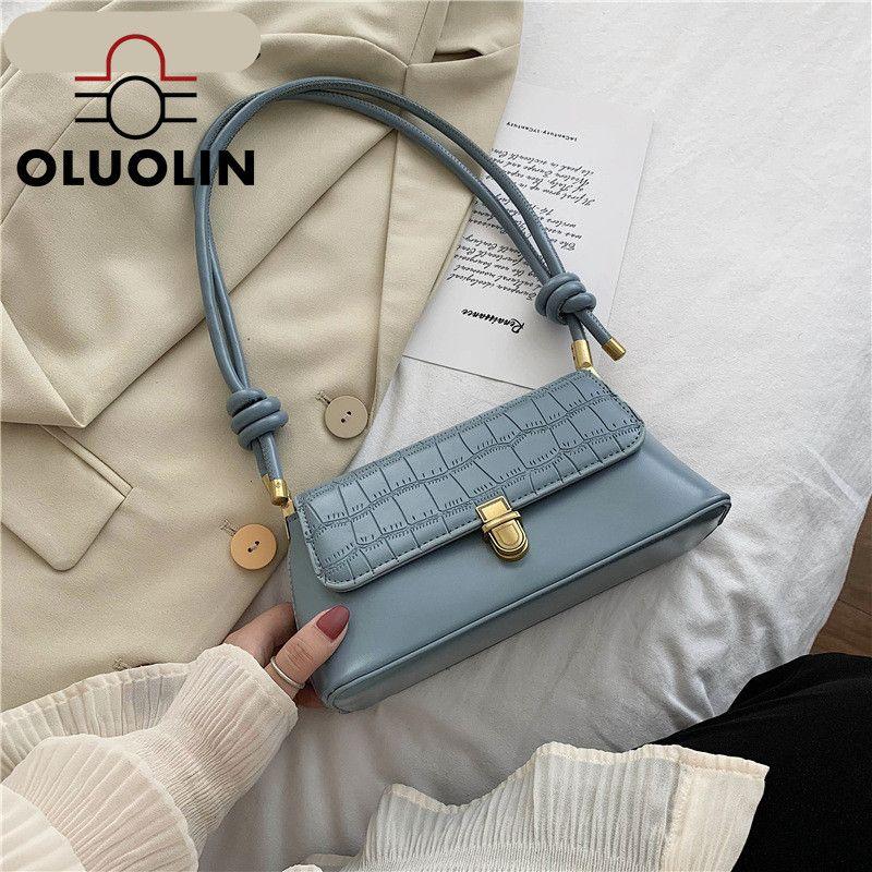 Fashion Bag 2020 New Style Messenger Bag Elegante Mini borse da donna tutto-fiammifero casuale di pietra del reticolo spalla femminile ascellare