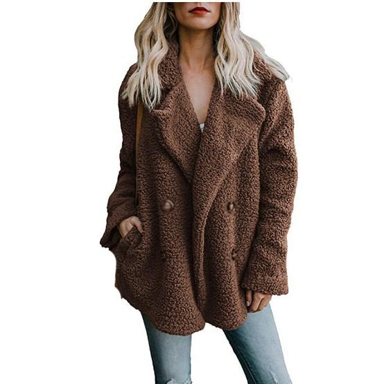 8 Couleurs Casual Surdimensionné Fausse Fourrure Veste Manteau Femmes Hiver Épais Manteau Plus La Taille Manteau Survêtement Survêtement