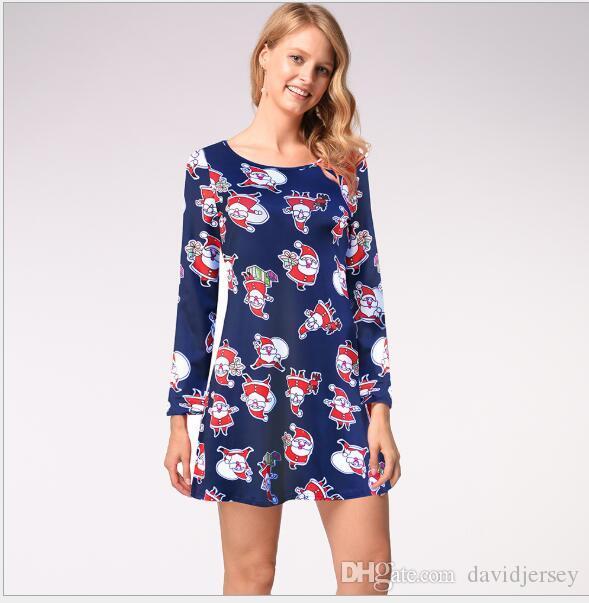 218 Femmes Salopette, Robes simples, barboteuses jupe robe à fleurs avec manches robes nuevo estilo para chicas vestido mujeres wt19