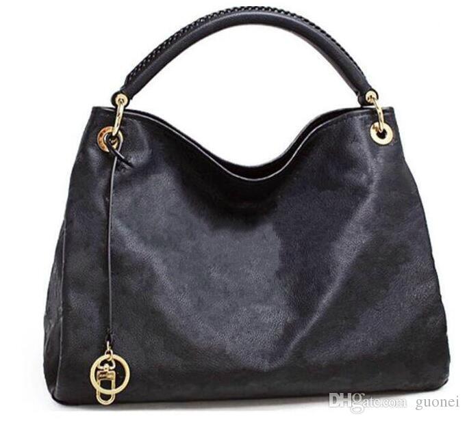 Forma-de luxo de couro clássica Marca saco Vintage Todos Embossing Flores real Bolsas M40249 mulheres totes Designer saco da bolsa a tiracolo