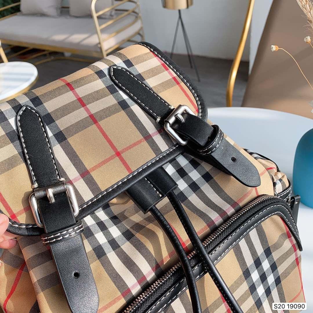 2020 Nouvelle Arrivée Luxe Femmes Sac à dos de haute qualité Double Sacs à bandoulière pour les femmes sac l'école de mode Livraison gratuite T B100598W