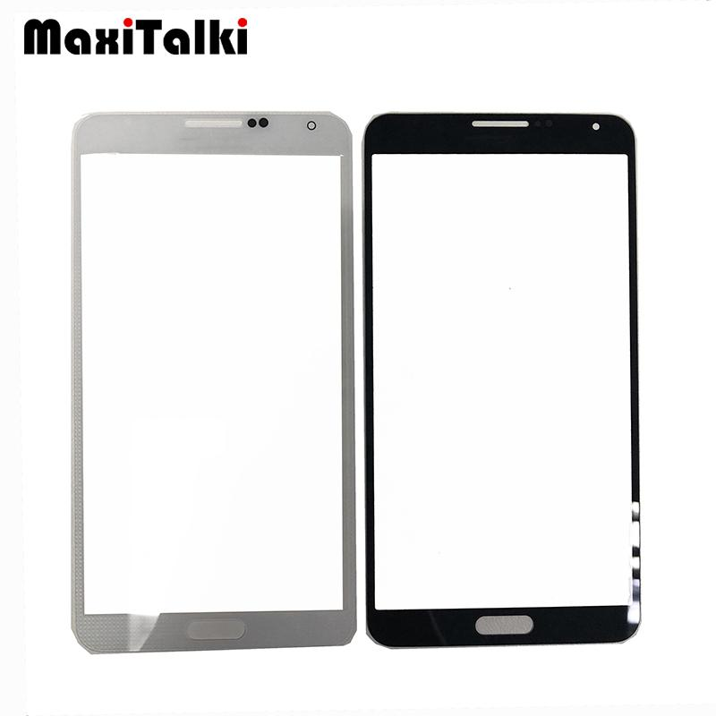 10PCS/Lot High Quality For Samsung Galaxy Note3 Note 3 N900 N9005 N900F Front Outer Glass Lens Touch Panel Replacement