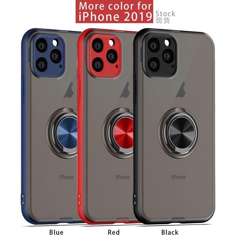 Hot Pour Iphone 6S 7 8 X 11 X Xr Pro Max Mode anneau magnétique Téléphone Case Protection anti-chute de cas