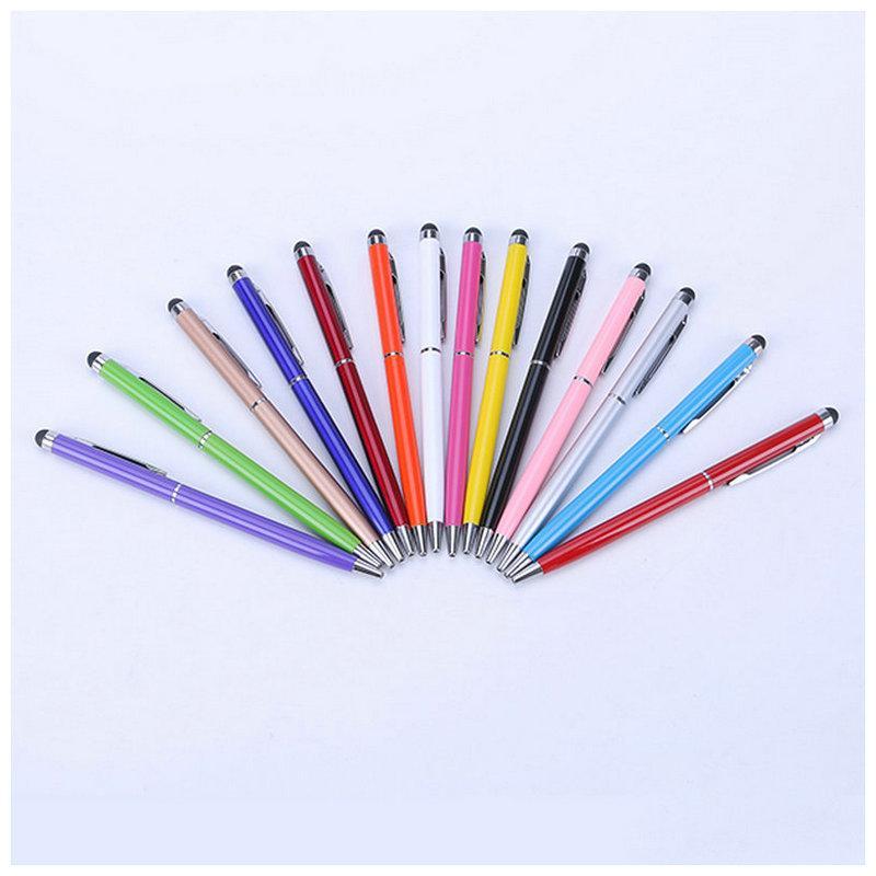 بالسعة ستايلس القلم 2 في 1 شاشة حساسة تعمل باللمس عالية القلم اللوحي الهاتف المحمول اي فون سامسونج هواوي