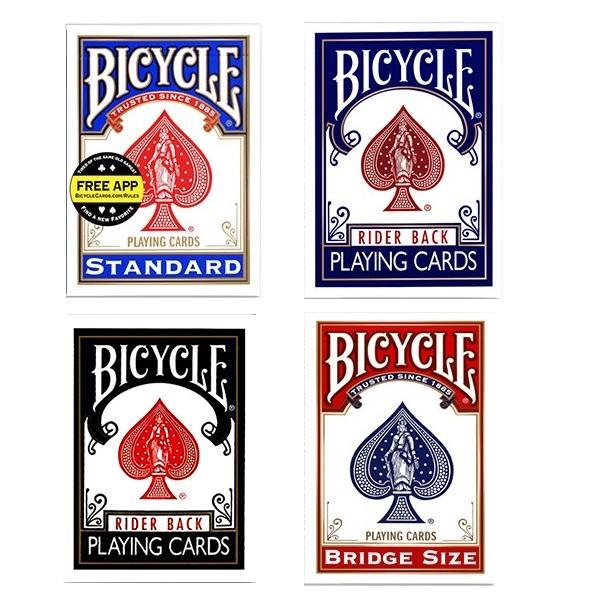 Велосипедный всадник Назад Стандартный индекс Игранные карты Красный / Синяя палуба Poker Размер 808 Новый Запечатанный USPCC США Волшебные открытки Волшебные хитрости