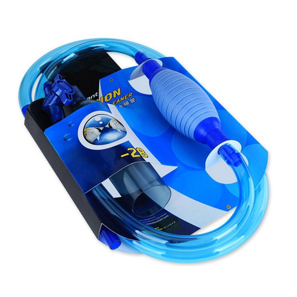 Acquario Gravel Cleaner filtro semiautomatico Fish Tank della ghiaia e oggetti per pulizia Vacuum Pump cambio d'acqua Sifone Sabbia Cleaner
