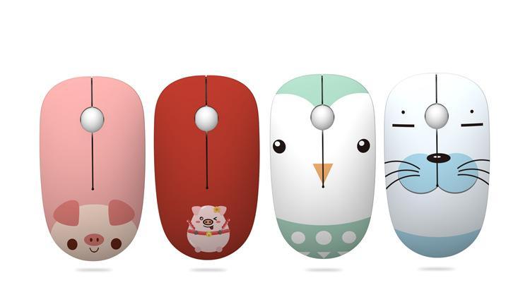 Trasferimento Nuovo Wireless Mouse creativo sveglio di casa 2.4G Computer Office all'ingrosso del mouse Wireless Mouse Water regalo creativo