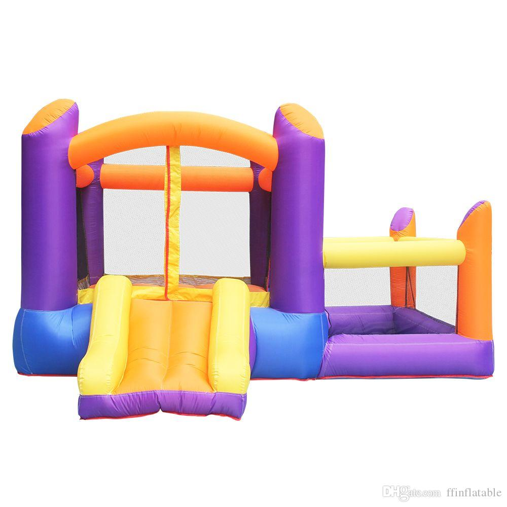 Inflatable Bounce House Commercial Toy Bouncer House Tiny Inflatables Bouncer With Ball Pit For Family Party