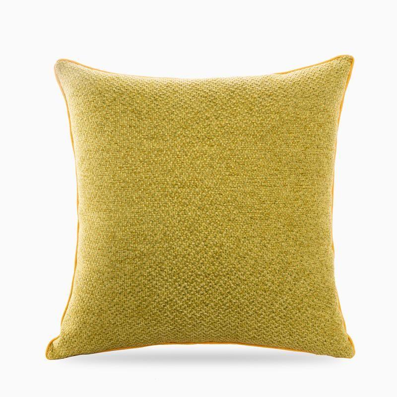 Contratado suave escandinava moderna minimalista sólido tridimensional Knit Texture almofadas do sofá doce Multi-cor dupla face Pillow123
