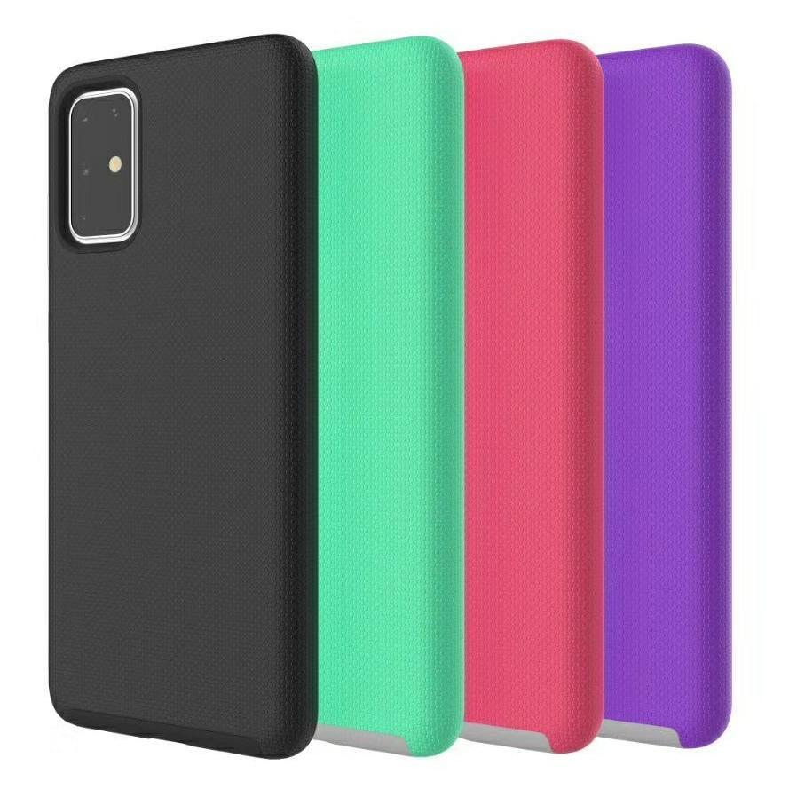 Doppio strato Caso di custodia robusta resistenti per Samsung Galaxy S20 Ultra Fe 5G S10 Nota 10 Plus S10E A51 A71 Anti-Knock Cover Anti-Knock