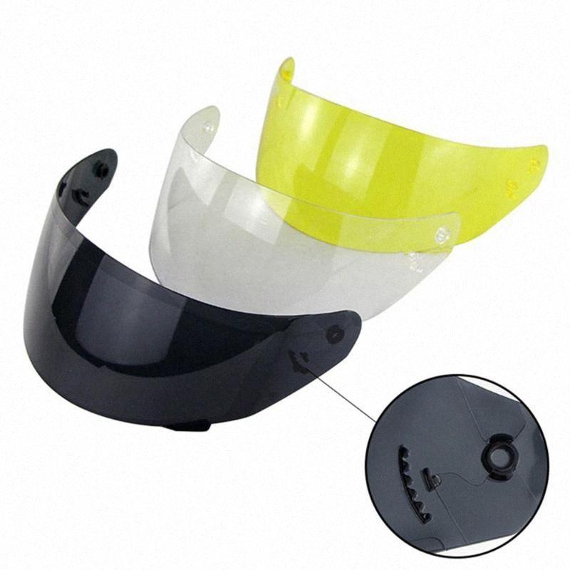 Anti-UV Full Face moto détachable Casque objectif Visière pour LS2 FF352 FF351 FF369 FF384 amovible rayons UV Protection 3dC0 #
