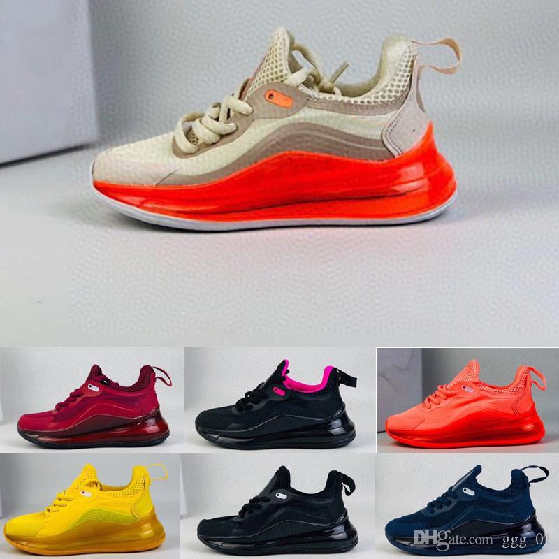 2020 72C جديد خفيف الهواء الأطفال الاحذية صبي فتاة طفل الشباب رياضة حذاء رياضة حجم 26-35