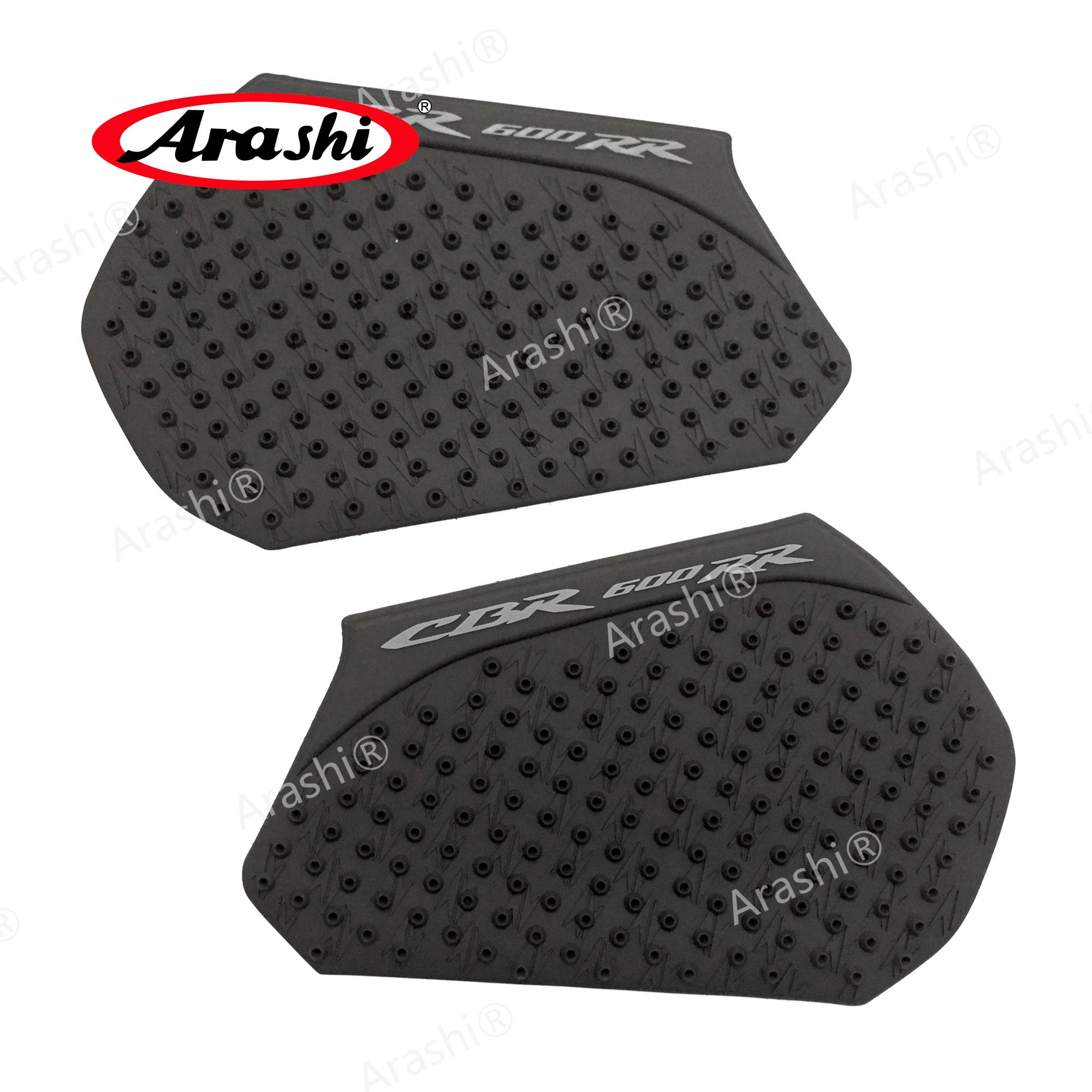 Arshi For HONDA CBR600RR 2013-2017 Tank Pad Protector Sticker Decal Soft Side Pad Gas Fuel Knee Decals CBR 600 RR 2013 14 15 16 17