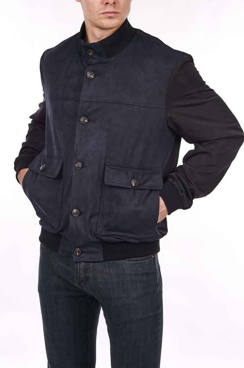 les hommes de veste de printemps 2020 Milliardaire nouvelle mode d'affaires poches Casual Angleterre Bouton homme grande taille M-4XL Livraison gratuite