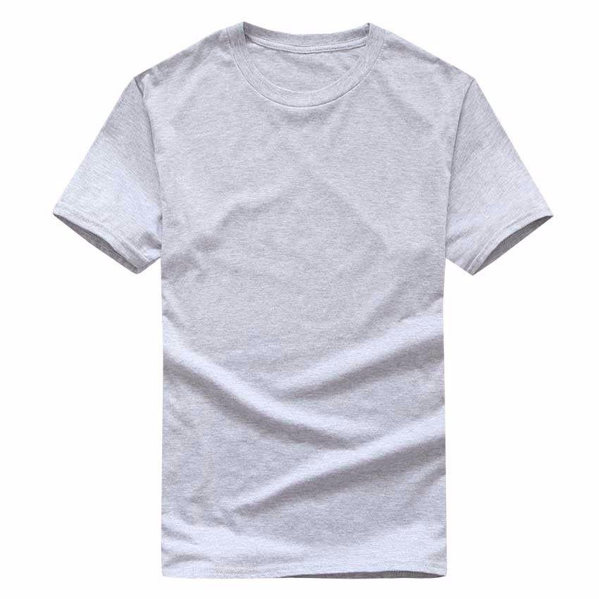 Asiatisches T-Shirt Solid Casual Man Männer Baumwolle Tshirt Hemd Herren T-Shirt O-Hals 2020 T-Hülse Kurze Outdoor Kurzarm Größe S-XXXL QSDKH MUWJ