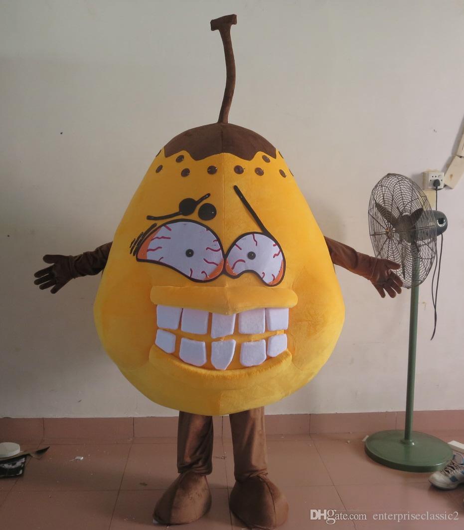 реальные фото плохой костюм груша микробов бактерии талисман костюм для взрослых на продажу