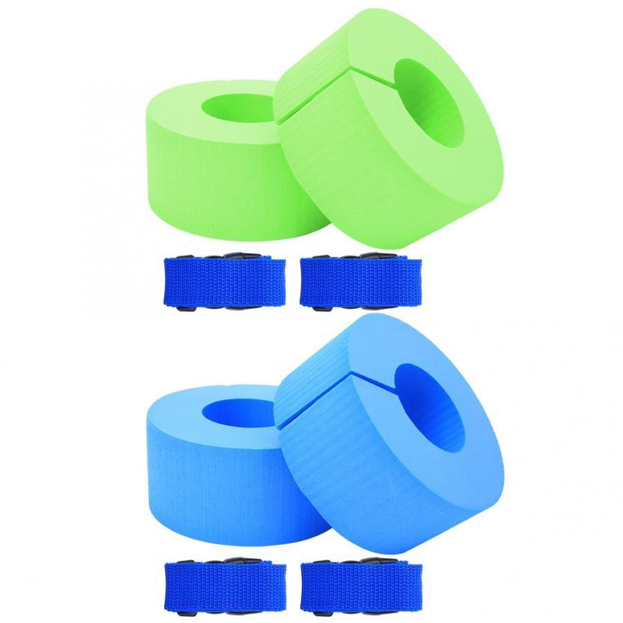 Protable Children Adult Swimming Floating Sleeve Buoyancy Arm Circle Swim Ring Leggings Water Fitness Sports Supply