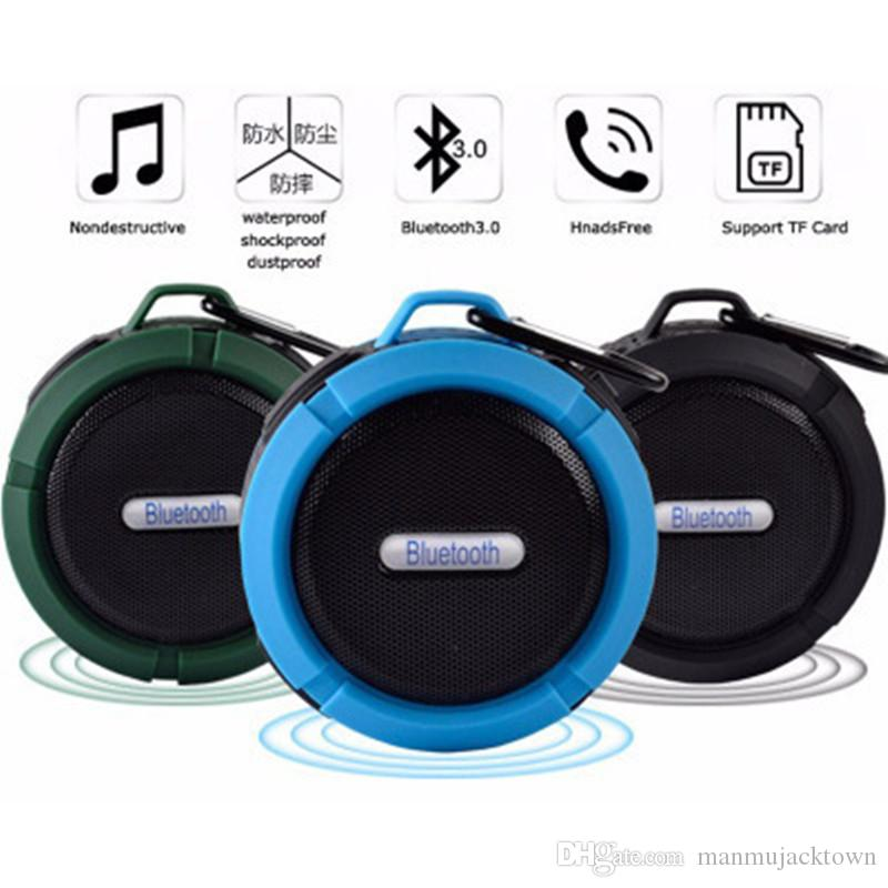 Mini Speaker Promotion Waterproof Shower Speaker Blue tooth for MP3/ MP4 Playing it is company with you Camping cycling music