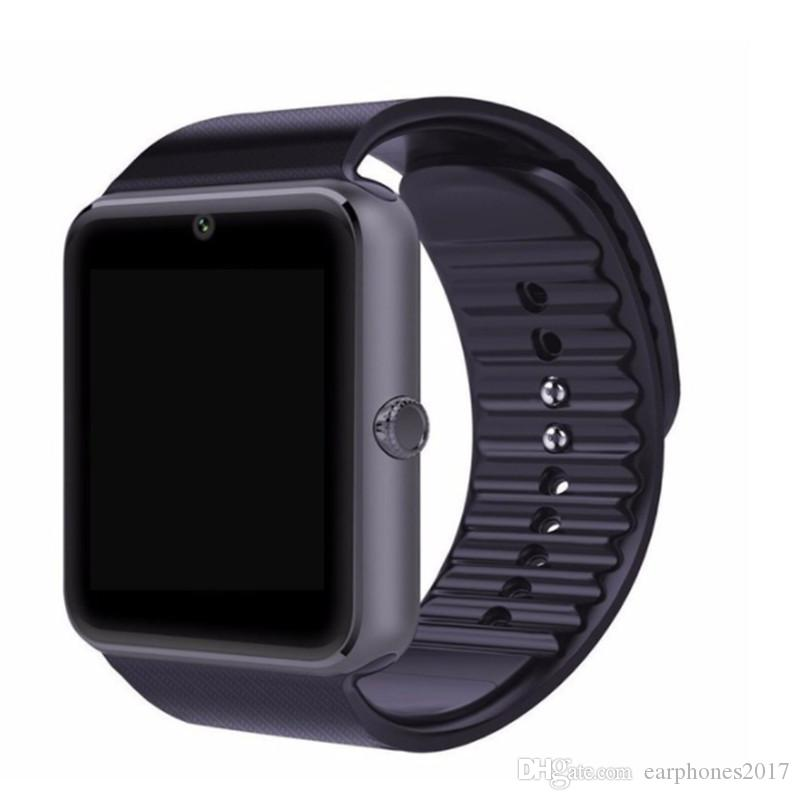 Bestseller Smart Watch GT08 Clock With Sim Card Slot Push Message Bluetooth Connectivity Wristband for Android Phone Smartwatches 1pcs/lot