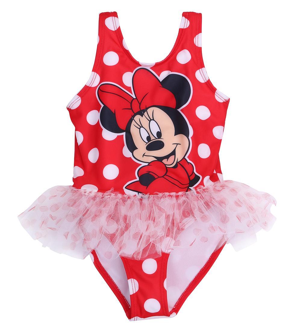 2018 Baby Girl Swimsuit Cute Cartoon Bathing bambini Costumi da bagno Tankinis della neonata del bikini Bambini Beach Wear