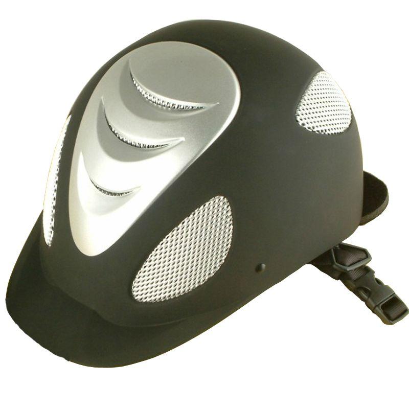 hot Top Quality Equestrian Horse Racing Helmet ou Equitação Capacete de Segurança para corridas 9 Tamanho